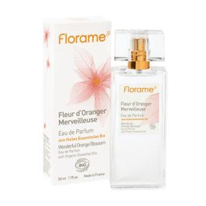 parfum bio fleur oranger