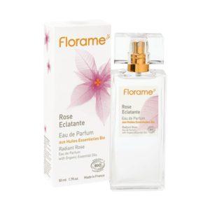 parfum rose bio naturel