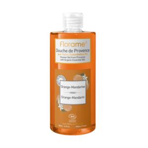 gel douche naturel sans paraben sulfate orange