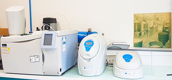 Chromatographie en phase gazeuse avec un détecteur à ionisation de flamme (GM/FID)