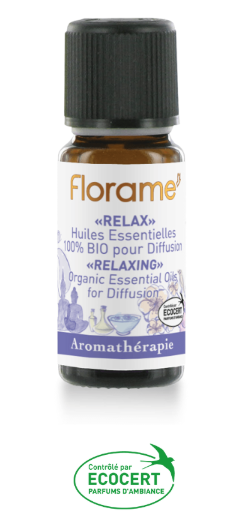 composition diffusion huiles essentielles bio relaxation