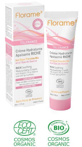 crème hydratante bio visage