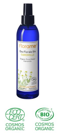 eau florale hydrolat bio camomille