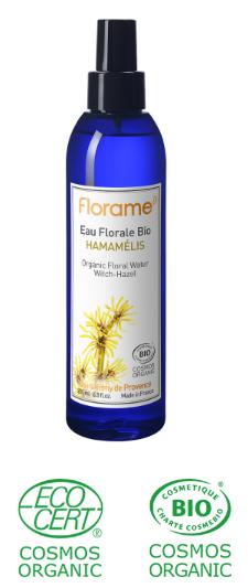 eau florale hamamelis séborégulation