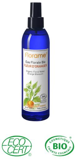 eau florale hydrolat bio oranger