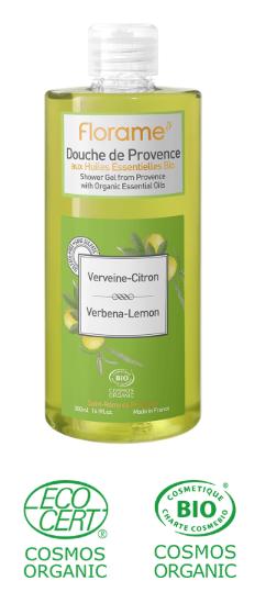 gel douche naturel sans paraben, sans sulfate citron verveine