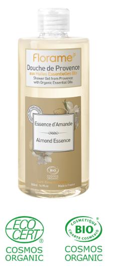 gel douche huiles essentielles bio