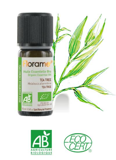 tea tree bio boutons acné