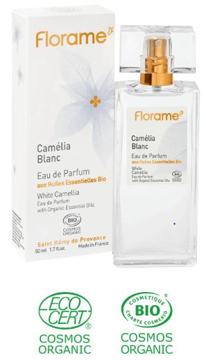parfum fleur bio camelia