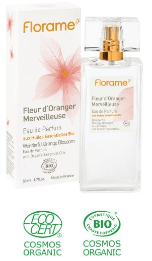eau parfumée fleur oranger biologique