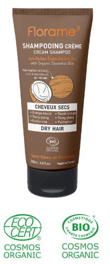 shampoing biologique cheveux secs cassants
