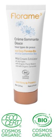 crème exfoliante impuretés masque